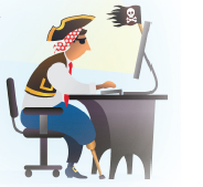 Digital Content Theft: use plagiarism detection tools to catch online pirates who might be stealing your blog content!