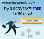 Find and fix duplicate content
